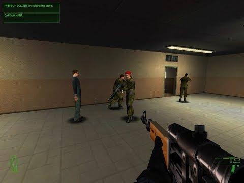 Project IGI - Mission 4: GOD - Jones is going inside the enemy base