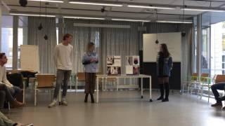 Presentatie moodboars Gina, Alexandra & Florian