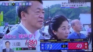 秋田県 上小阿仁村(自民党 小泉議員 訪問)