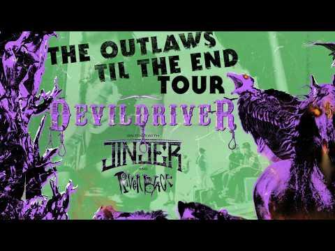 DEVILDRIVER - 'Outlaws 'Til The End' U.S. Tour Trailer | Napalm Records