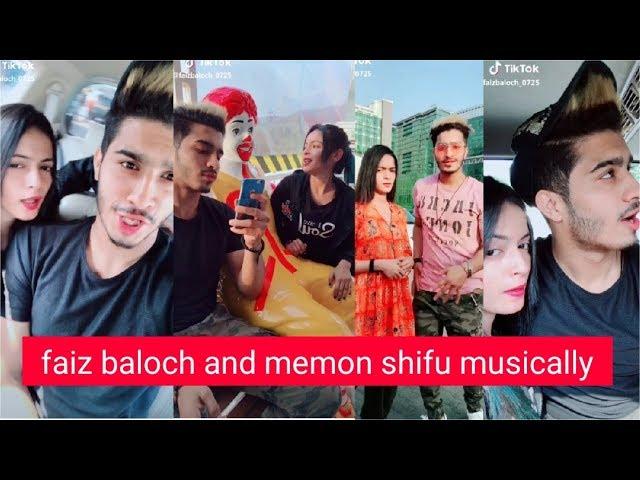faiz baloch and memon shifu Musically Videos    New Musical.ly Video Compilation