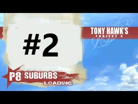 Let's Play Tony Hawk's Project 8 (PS2/Xbox) Part 2 - Suburbs