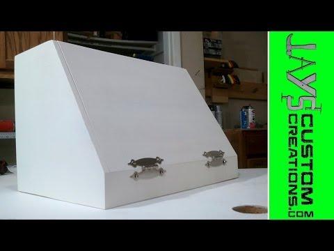 Pocket Hole or Rabbet Bread Boxes - 098