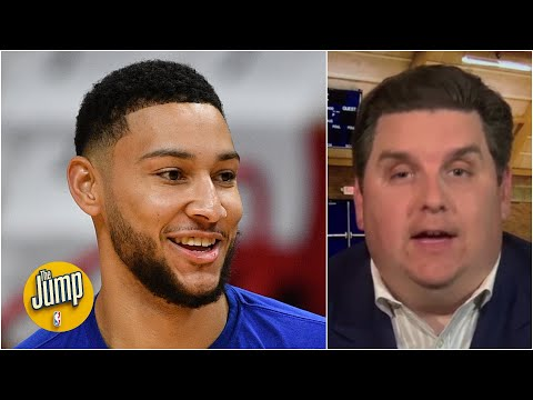Ben Simmons did Pilates during the shutdown and added weight - Brian Windhorst | The Jump