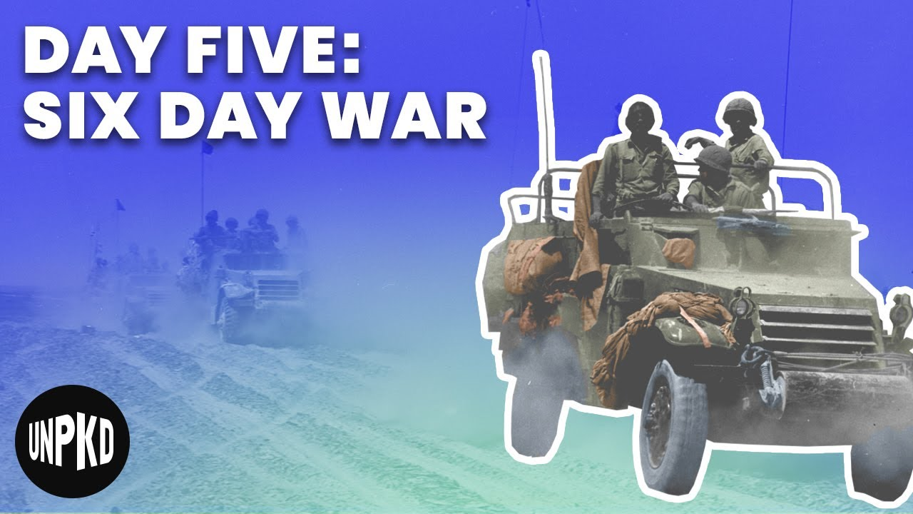 Day Five Of The War Six Day War Project