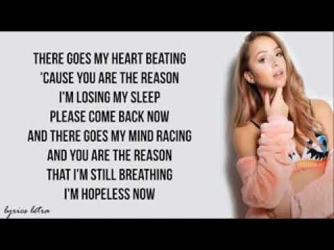 YOU ARE THE REASON - EMMA HEESTERS (Lyric)