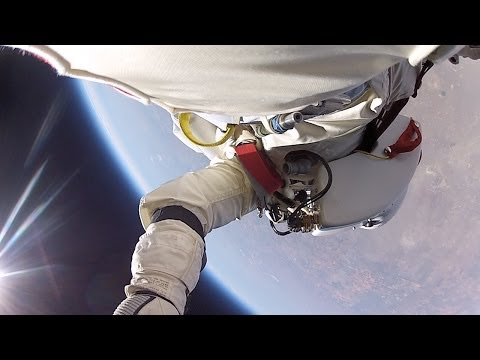 Insane New Footage Of Felix Baumgartner's Edge-Of-Space Jump Released