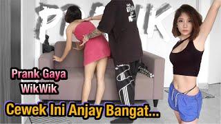 Download Mp3 PRANK GAYA WIKWIK CEWEK INI ANJAY BANGAT