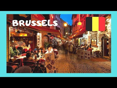 BRUSSELS: The Restaurant And BAR DISTRICT IN BELGIUM