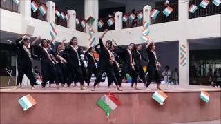 15th Aug Independence day Dance 2015 on song Vande Mataram ABCD 2 in aravali international school