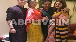 In Graphics:          SEE PICS: Haldi Ceremony of Kavita Kaushik and Ronnit Biswas