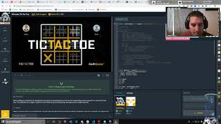 #100DaysOfCode Making an Ultimate-Tic-Tac-Toe b๐t to compete on codingame.com