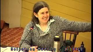 Acton, MA  Board of Selectmen 3/7/16