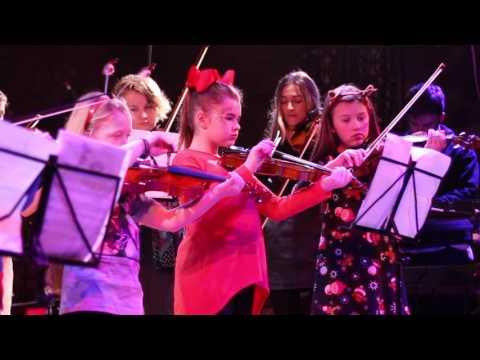 Village School of Music - Christmas Show - Violins