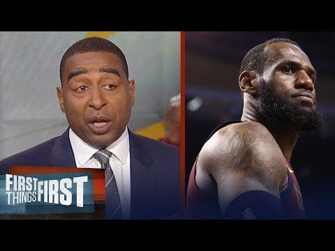 Cris Carter reveals why LeBron James will leave the Cleveland Cavaliers | NBA | FIRST THINGS FIRST