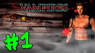 Countdown Vampires (PS1) walkthrough part 1
