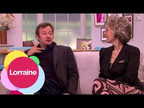 James Dreyfus And Maureen Lipman On Harvey And Dressing Rooms  Lorraine