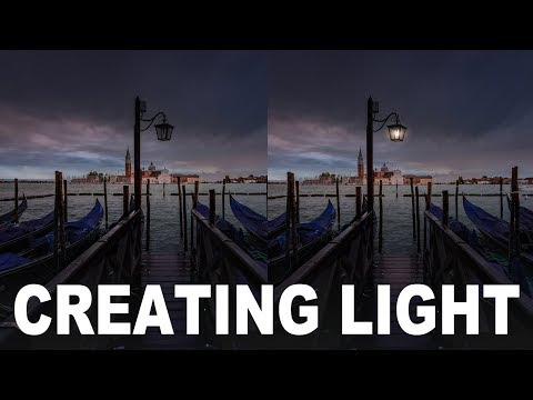 How to create light in your photo | Lightroom Tutorial