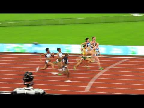 2011 UNIVERSIADE SHENZHEN Women 100m Semifinal 2.AVI