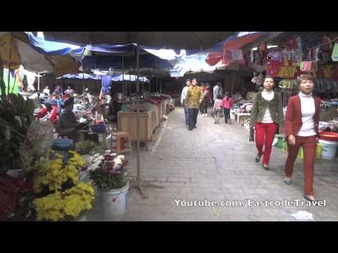 Him Lam Plaza and market Dien Bien Phu  city Vietnam