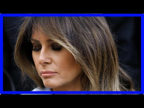 "Trump admits Melania's life is ""not so easy"" with opioid epidemic work, avoids mentioning Stormy Da"