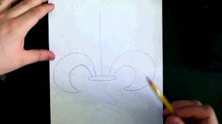 How to Draw a Fleur Di lis