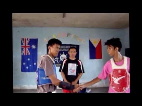 Visayan Taekwondo and Arnis Sparring