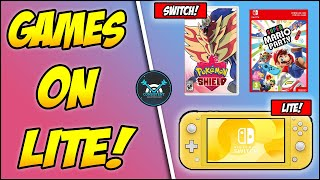 Which Games Will NOT Play On The *New* Nintendo Switch Lite! (Nintendo Switch Lite Games News!)
