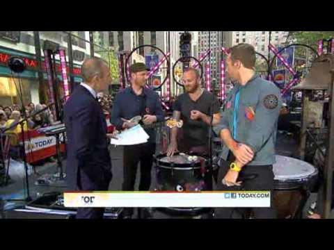 Coldplay - Viva La Vida - TODAY performances