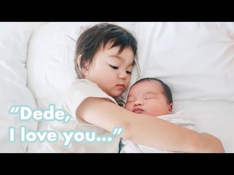 Vlog #248   BABY CLAY BELANJA GROCERY PERTAMA KALI, KAKAK SAYANG DEDE 💙