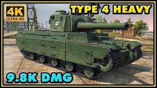 World of Tanks | Type 4 Heavy - 8 Kills - 9,8K Damage Gameplay