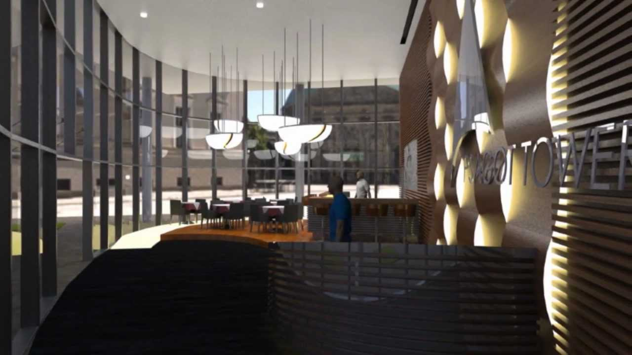 solidworks 2011 interior design lobby tower youtube