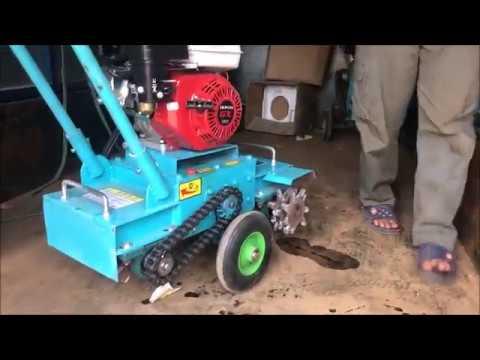máy băm nền bê tông chạy xăng, máy năm nền, máy nhám mặt bê tông 0988220239 - YouTube