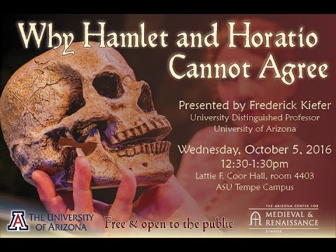 Why Hamlet and Horatio Cannot Agree