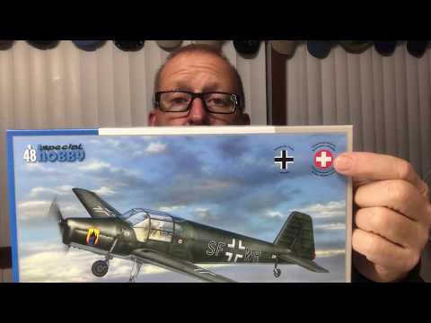 Special Hobby Bucker Bu181 Bestmann Intro