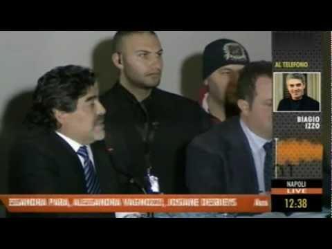 Maradona Exclusive Full Interview - Napoli 26.02.2013