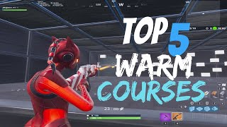 Top 5 BEST Aim/Edit/Build Warm Up Course (Fortnite Creative)
