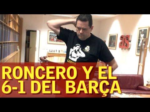 BARCELONA 6-1 PSG   Así se quedó Roncero tras el 6-1 de Sergi Roberto