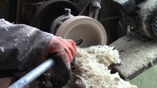 Homemade Bowl-Turning Gouge From A Ring-Spanner To Avoid Kick-Back