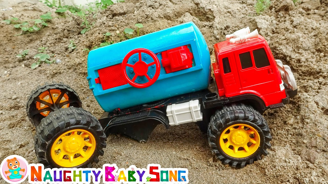 Vegetable For Meals Song - O azarado caminhão de água - Naughty Baby Song