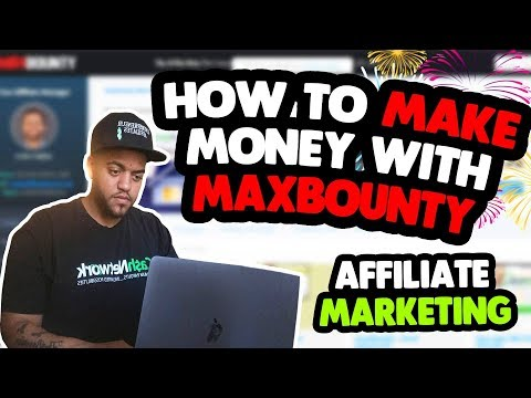 How To Make Money With Max Bounty Affiliate Marketing thumbnail