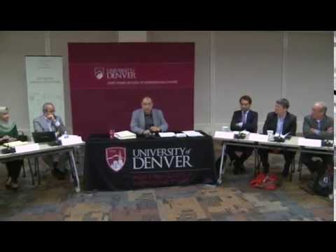 Panel 1: The Role of the Muslim Brotherhood in Egypt's Democratic Transition