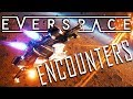 ALIEN ENCOUNTERS and Chain LIGHTNING WEAPONS! - Everspace Encounters DLC Gameplay