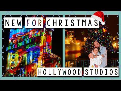 Whats New For Christmas at Hollywood Studios | Walt Disney World Vlog November 2017