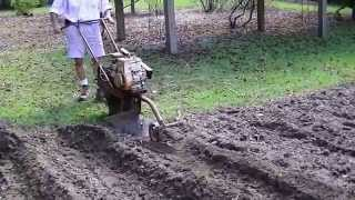 One tire plow? Homestead. Crazy old tools that work. Grow food year round.