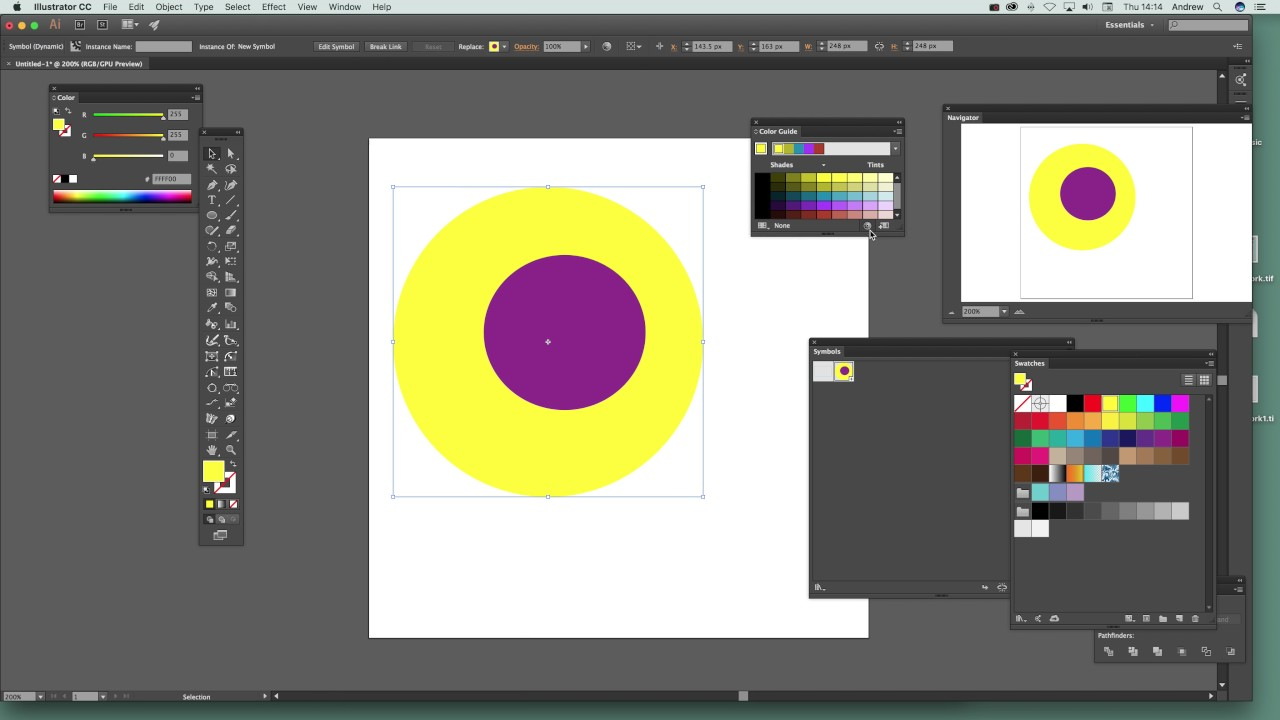 how to change a color on illustrator