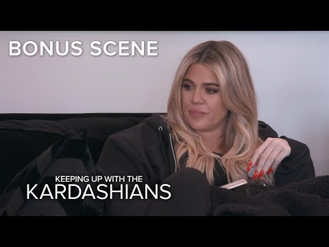 KUWTK | Khloé Kardashian Decides What to Do With Her Dog's Ashes | E!