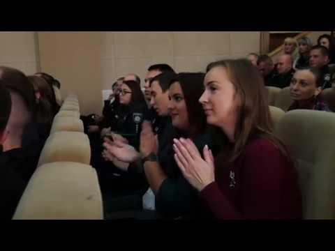 ГУ НП в Хмельницькій області: У Хмельницькому з нагоди Дня захисника України відзначили кращих поліцейських
