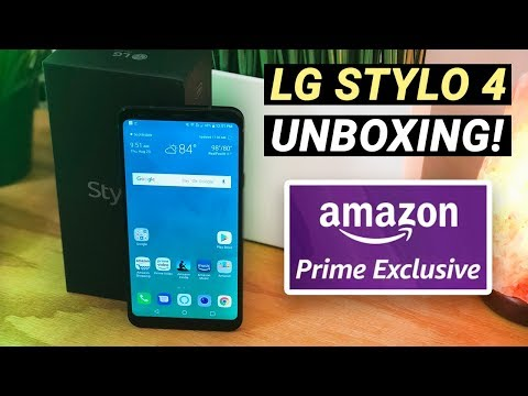 LG Stylo 4 - Amazon Prime Exclusive Phone - Unboxing and First Impressions!