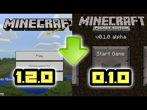 How To Downgrade Minecraft PE 2018 (Android & IOS)